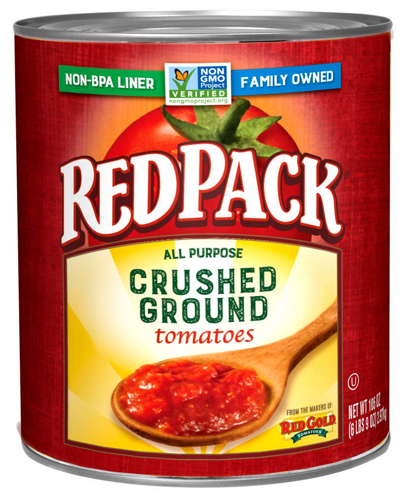 #10 Redpack All Purpose Crushed Ground Tomatoes